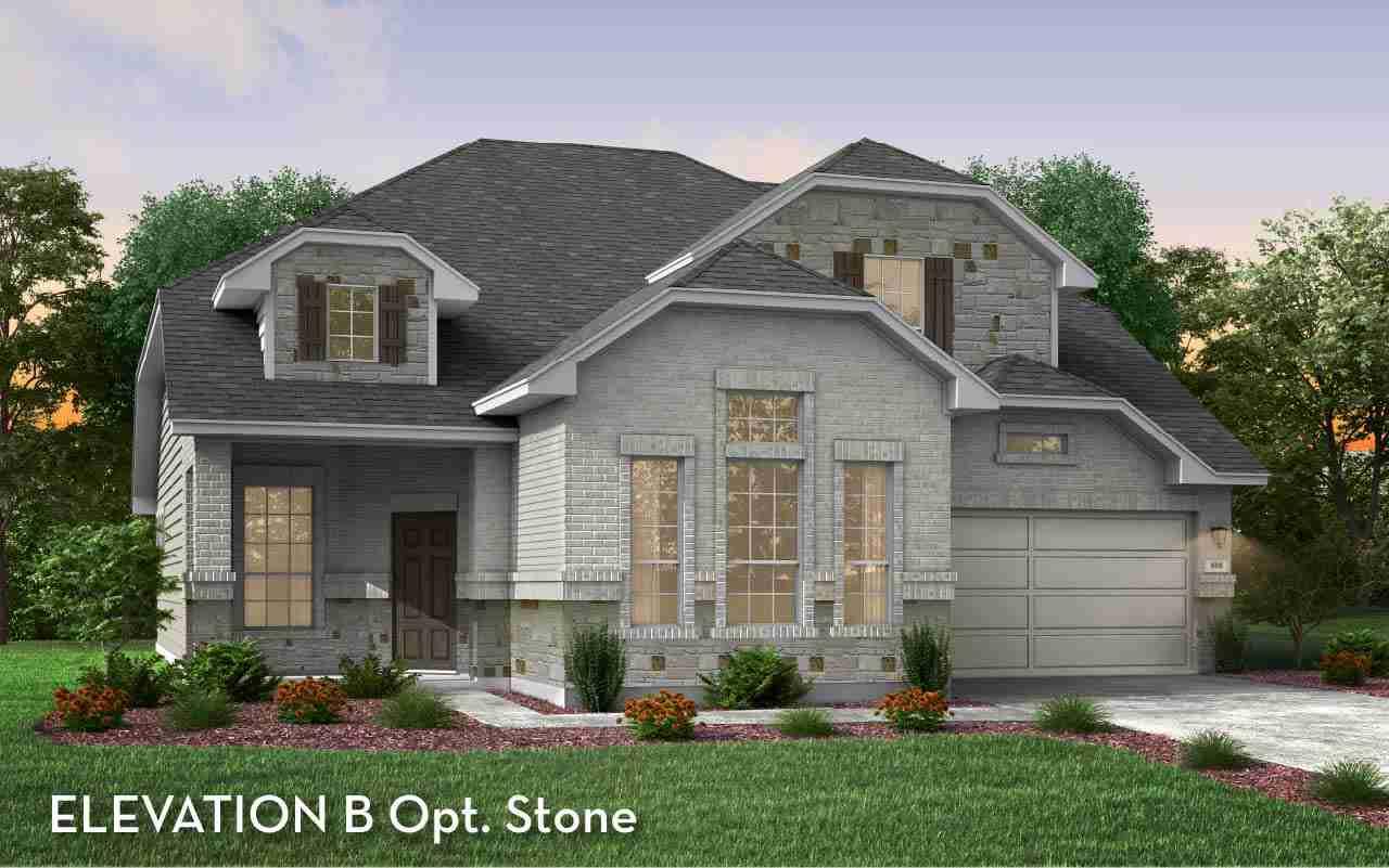 Fitzgerald Elevation B Opt. Stone