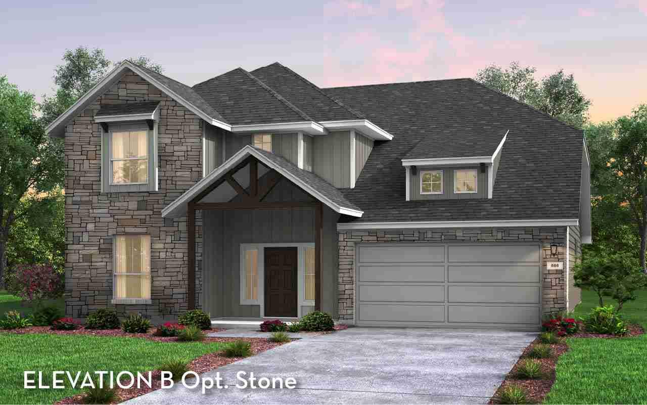Emerson Elevation B Opt. Stone