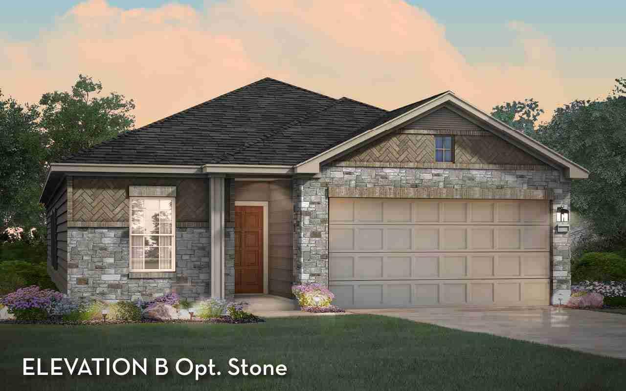 Sabine Elevation B Opt. Stone