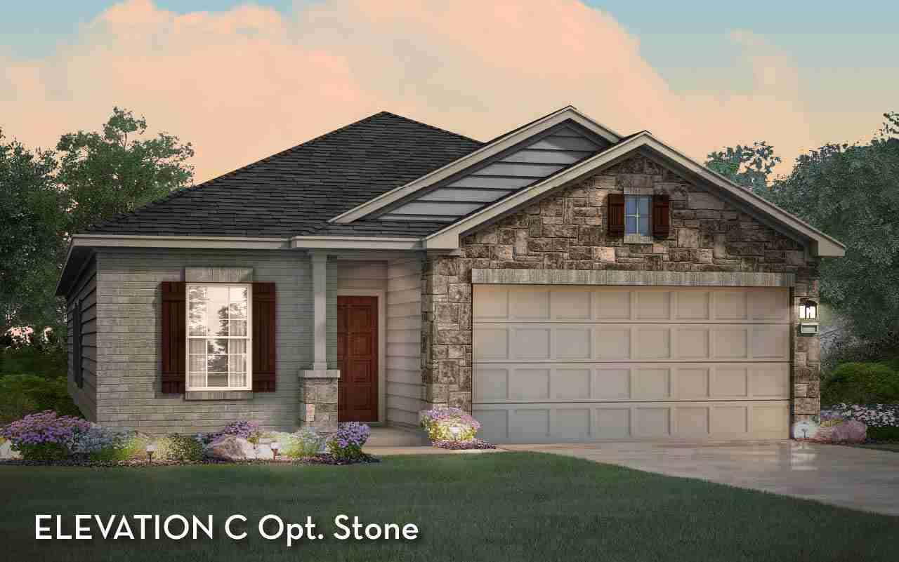 Sabine Elevation C Opt. Stone