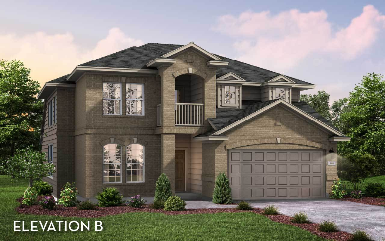 Exterior featured in the Silverthorne By CastleRock Communities in Brazoria, TX