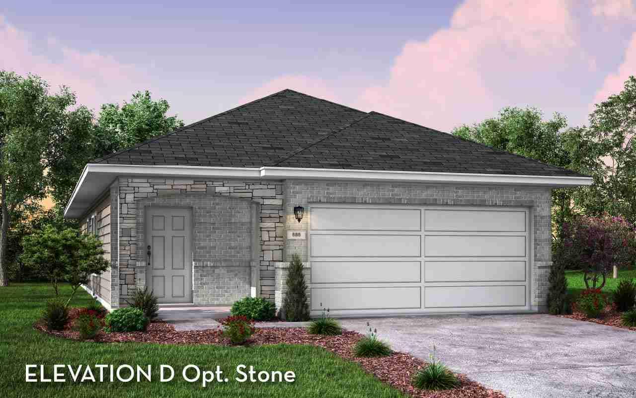 Oak II Elevation D Opt. Stone