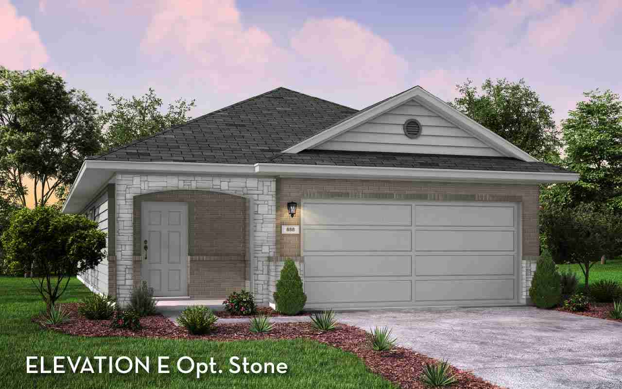 Oak II Elevation E Opt. Stone