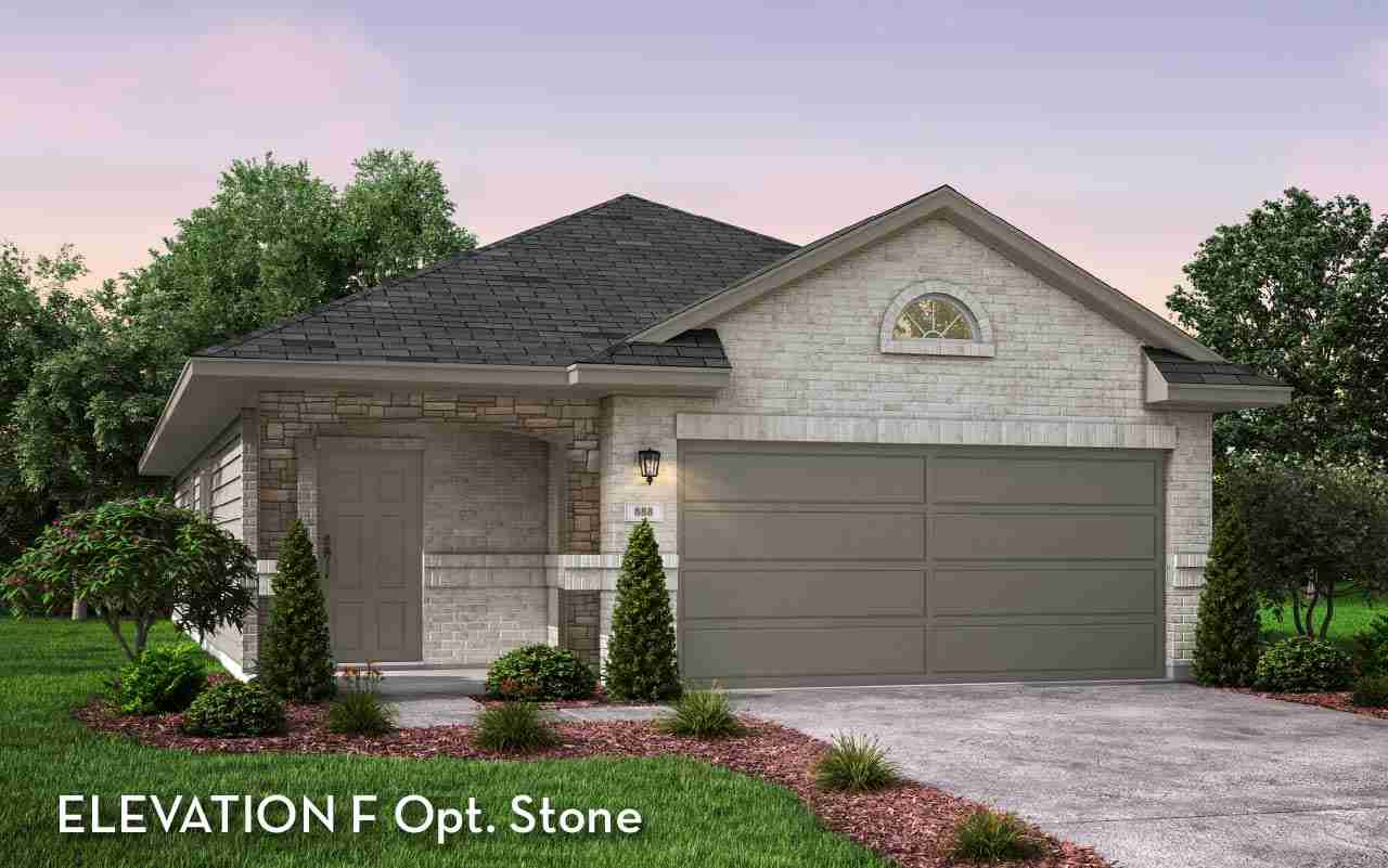 Oak II Elevation F Opt. Stone