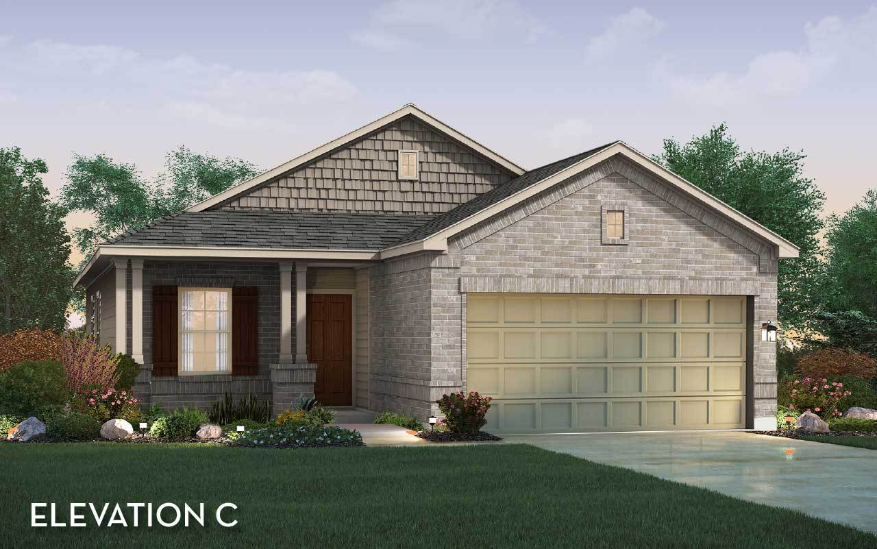 Exterior featured in the Comal By CastleRock Communities in Houston, TX