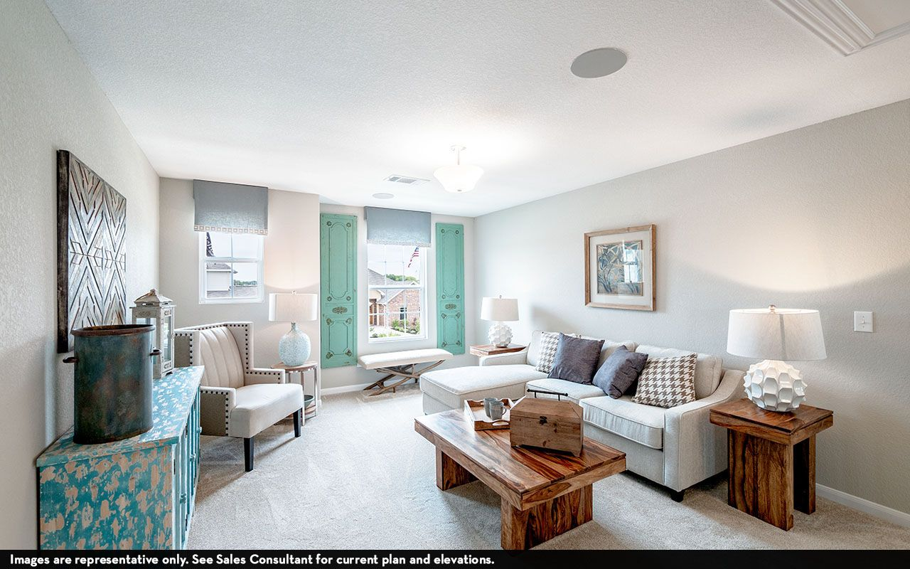 Living Area featured in the Concho By CastleRock Communities in Houston, TX