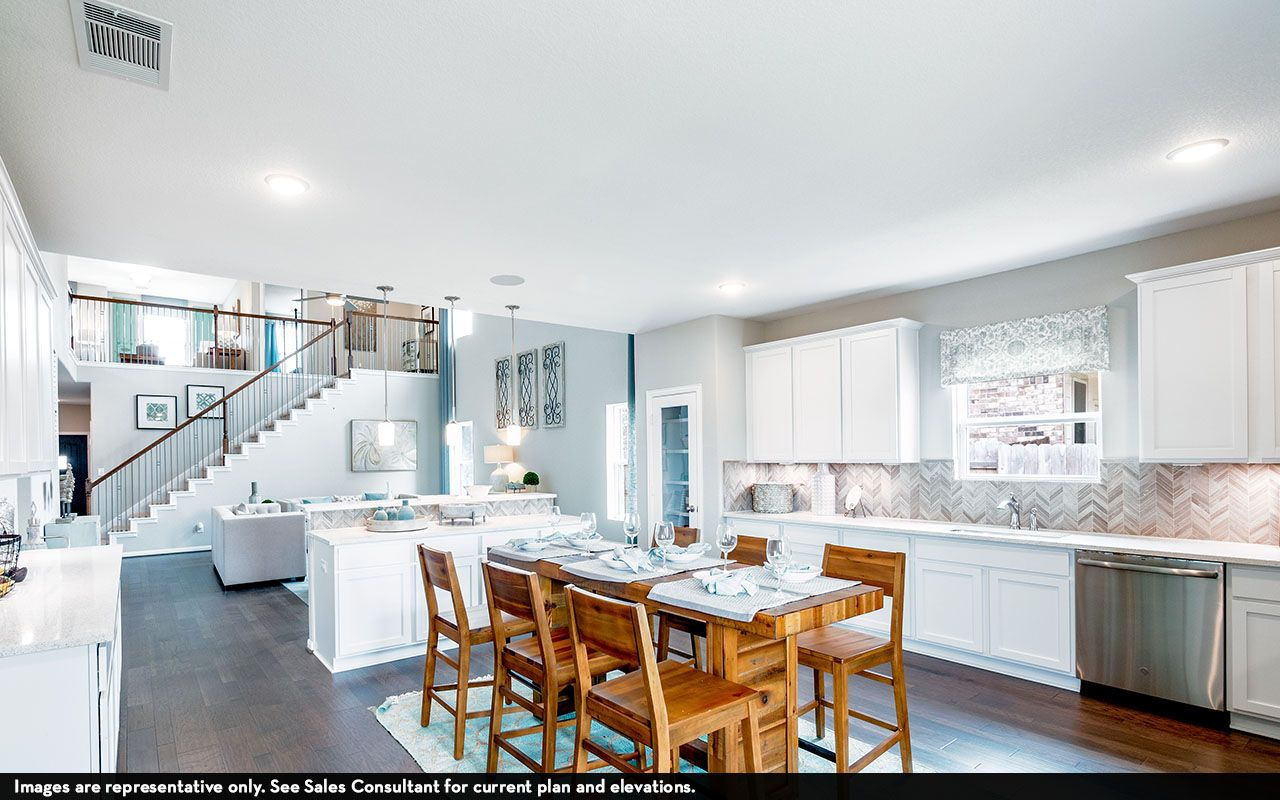 Kitchen featured in the Concho By CastleRock Communities in Houston, TX