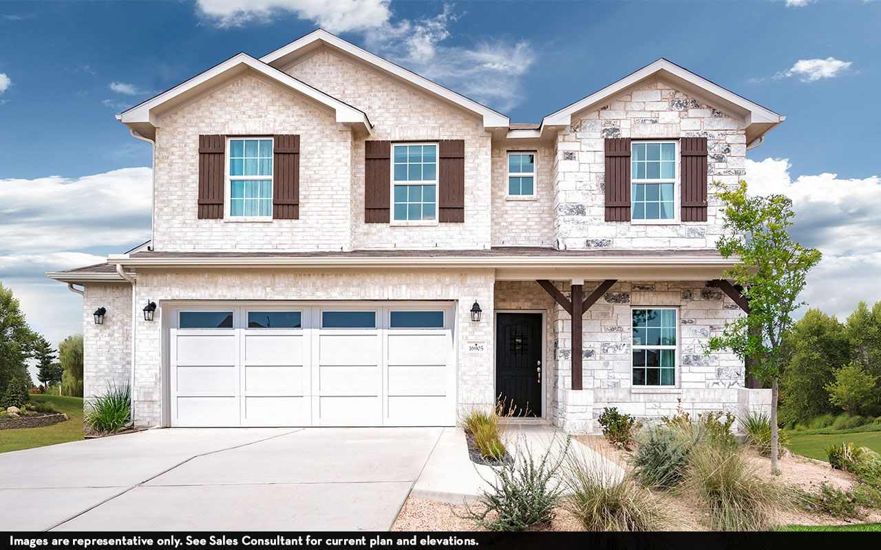 Exterior featured in the Concho By CastleRock Communities in Houston, TX