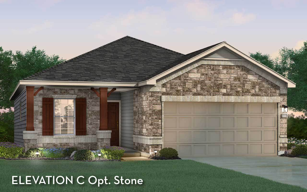 Exterior featured in the Frio By CastleRock Communities in Houston, TX