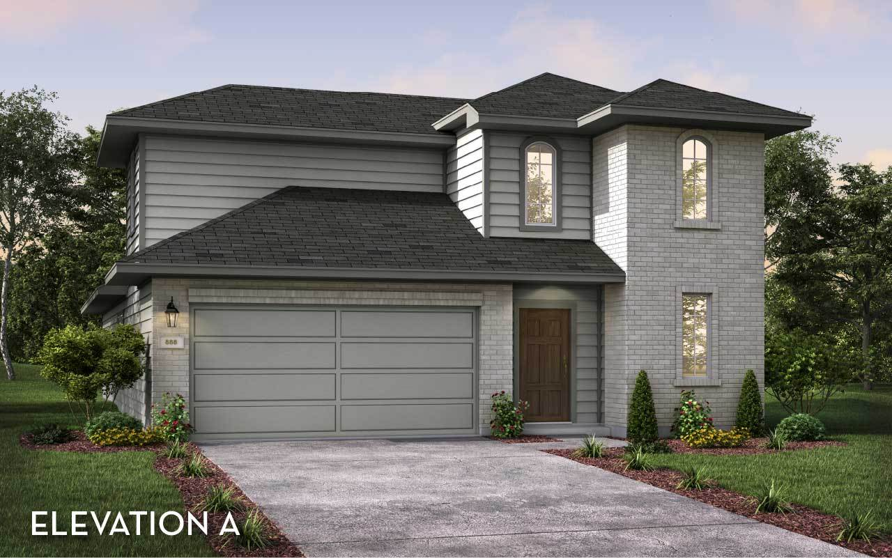Exterior featured in the Gemini By CastleRock Communities in Houston, TX