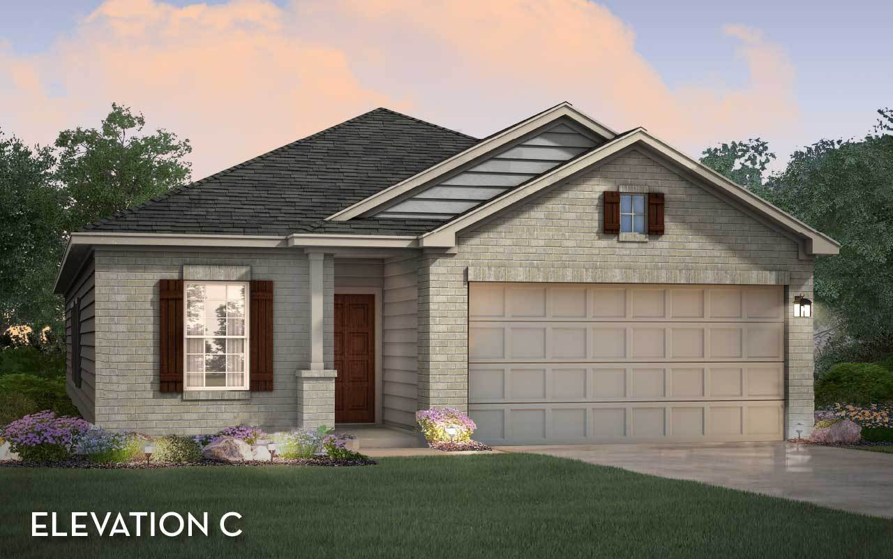 Exterior featured in the Sabine By CastleRock Communities in Houston, TX