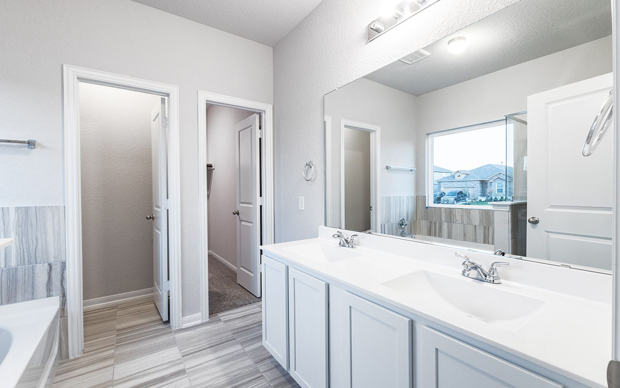 Bathroom featured in the Pedernales By CastleRock Communities in Houston, TX