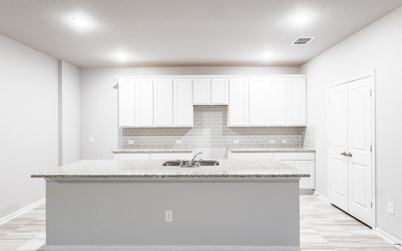 Kitchen featured in the Pedernales By CastleRock Communities in Houston, TX