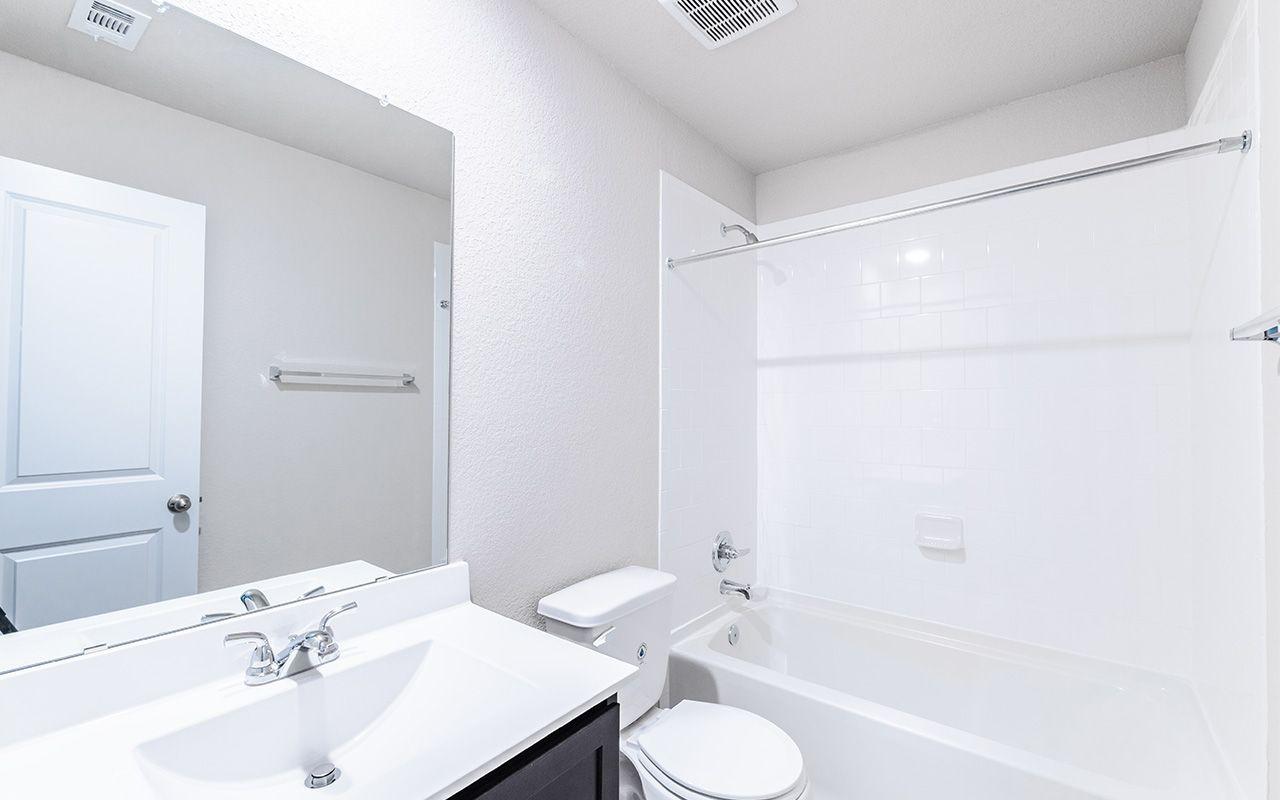 Bathroom featured in the Zeus By CastleRock Communities in Brazoria, TX
