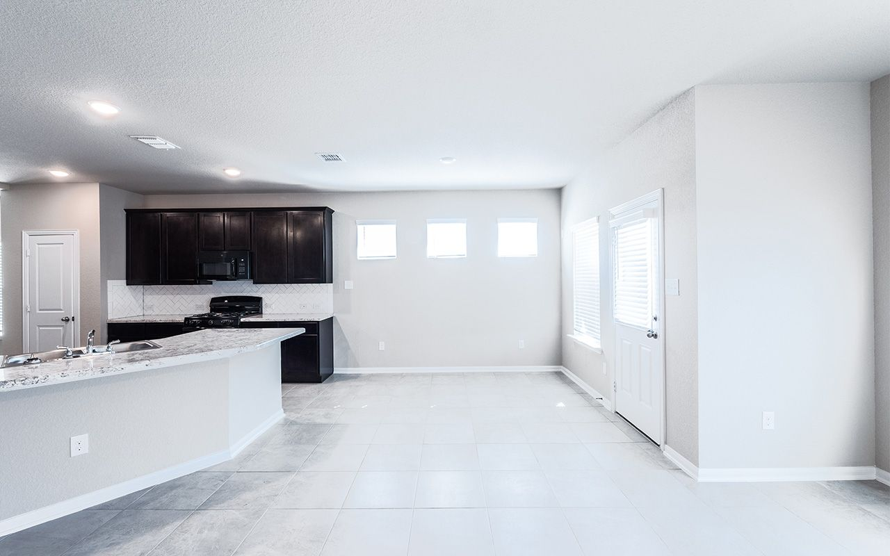 Kitchen featured in the Zeus By CastleRock Communities in Brazoria, TX