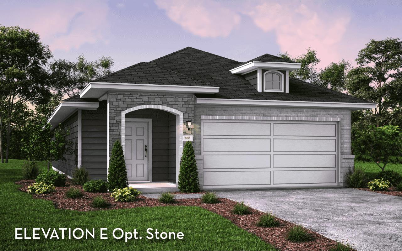 Maple Elevation E Stone