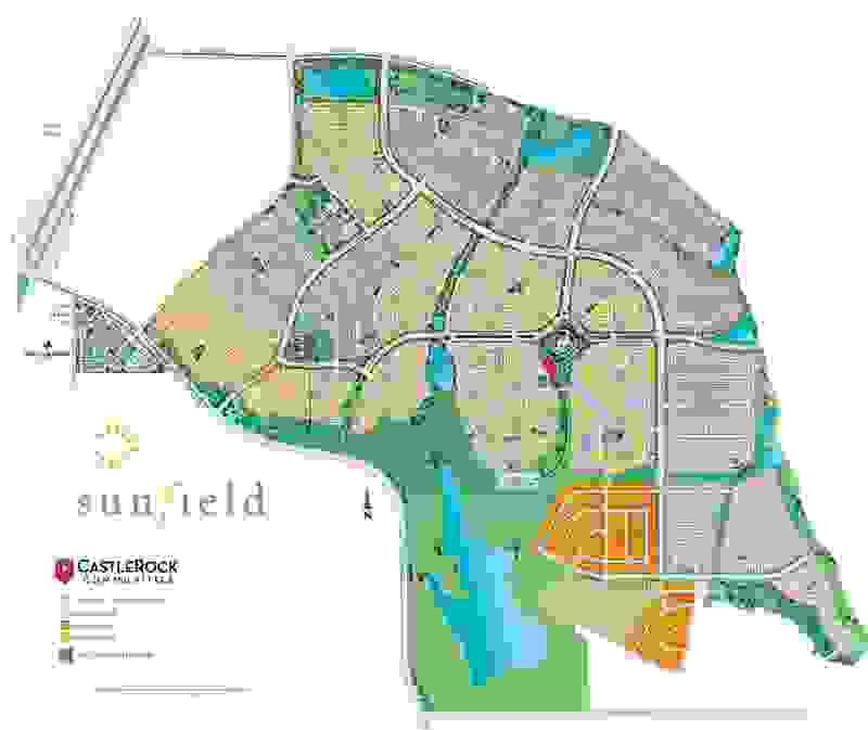 Sunfield Site Map
