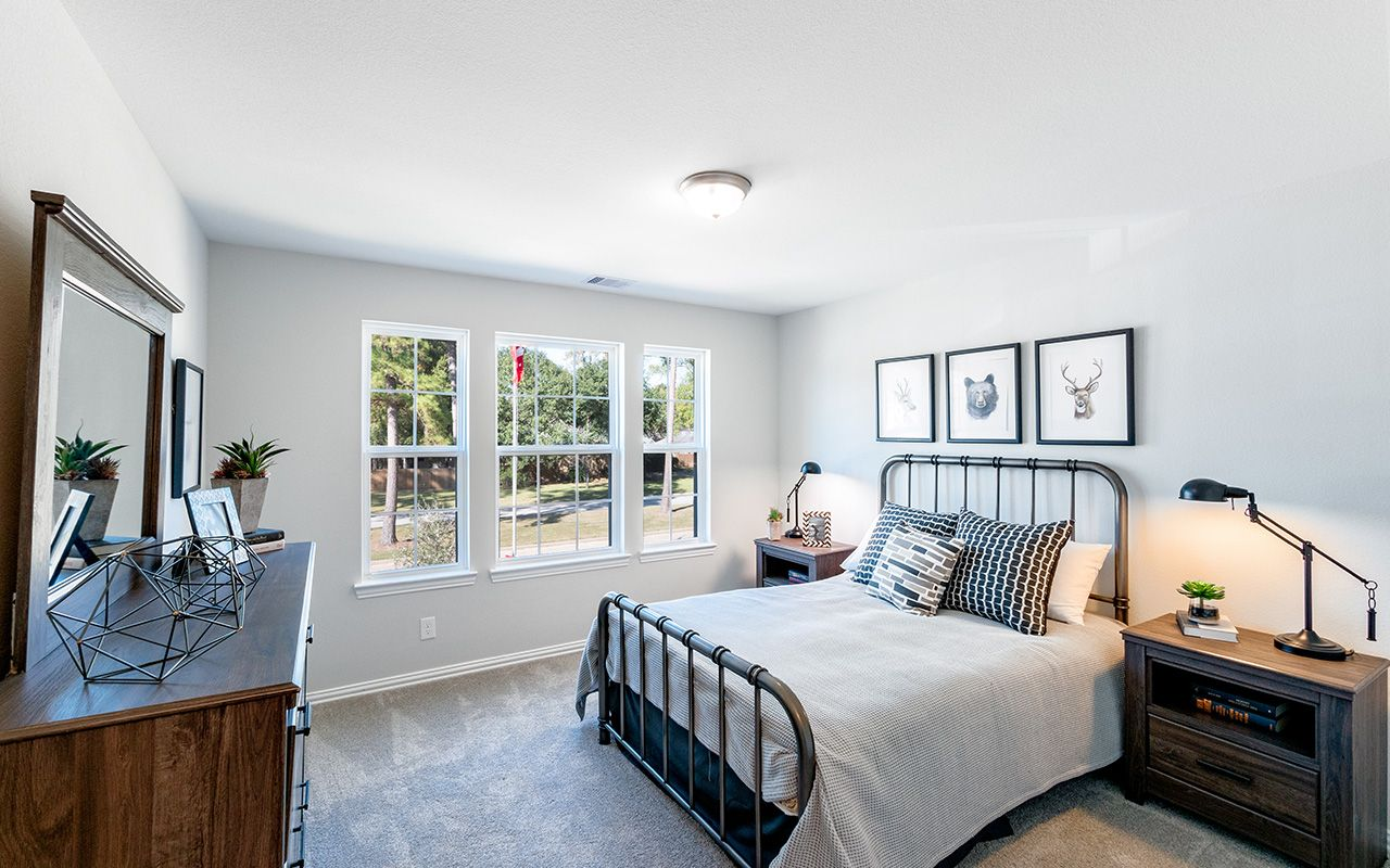 Bedroom featured in the Dickinson By CastleRock Communities in Dallas, TX