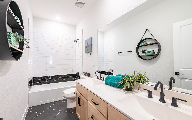Bathroom featured in the Eureka By CastleRock Communities in Houston, TX