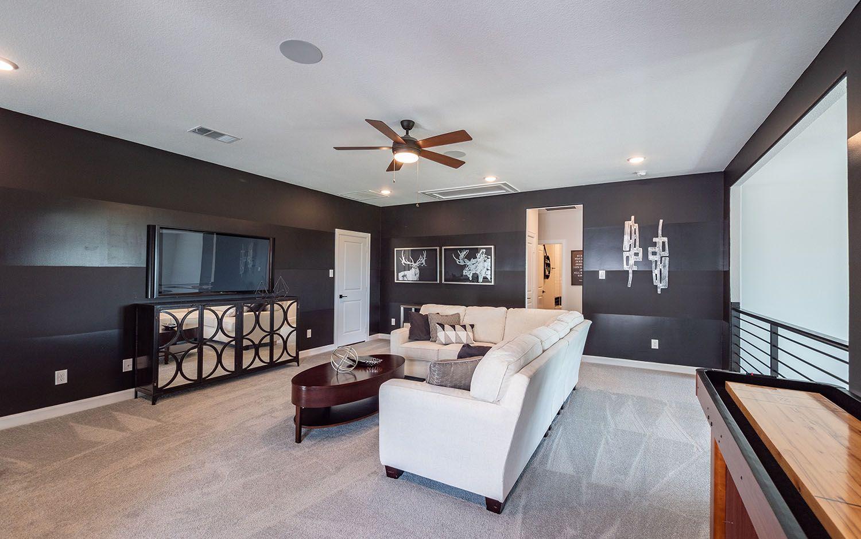 Living Area featured in the Eureka By CastleRock Communities in Houston, TX