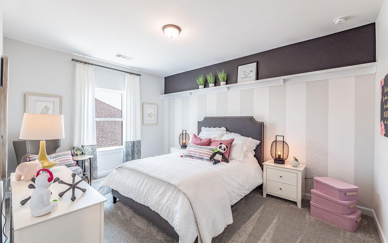 Bedroom featured in the Eureka By CastleRock Communities in Houston, TX