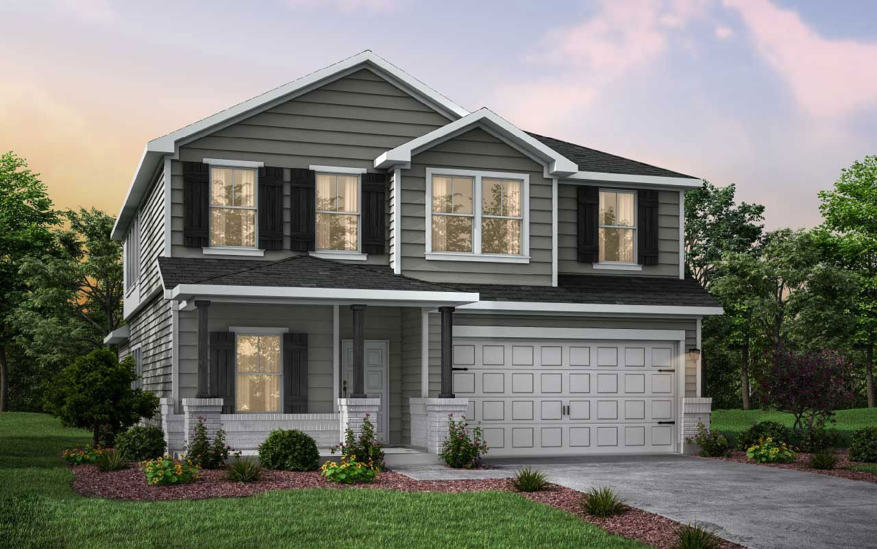 Exterior featured in the Rio Grande By CastleRock Communities in Houston, TX