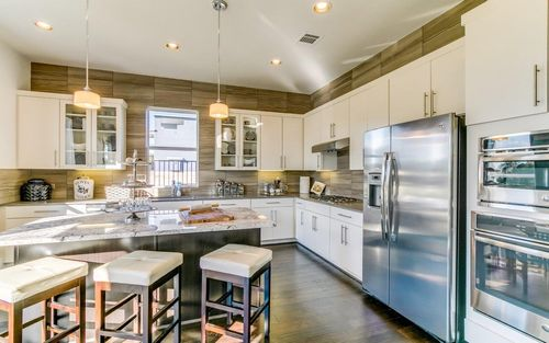 Kitchen-in-Vaughan-Urban Gold-at-Build on Your Lot-in-Houston