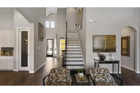 Stairway-in-Artesia-Gold-at-Woodshore-in-Clute