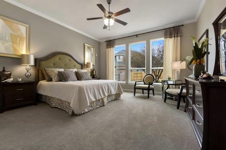 Bedroom-in-Artesia-Gold-at-Sunfield-in-Buda