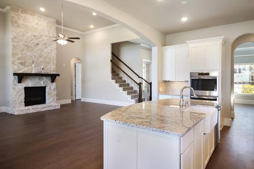 Kitchen-in-Picasso II-Mercury Luxury Home-at-Inspiration-in-Wylie