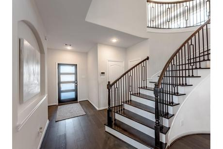 Stairway-in-San Marcos-Silver-at-Woodshore-in-Clute
