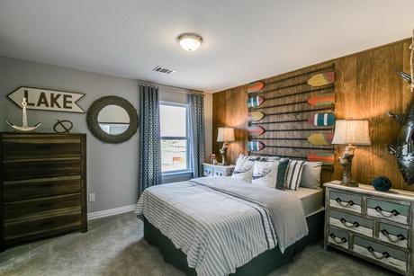Bedroom-in-Fremont (3 Car)-Gold-at-Estates of Flintrock-in-Lakeway