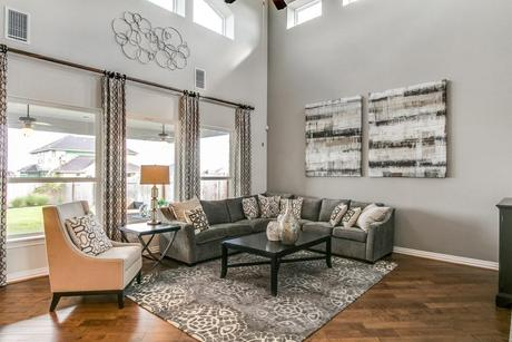 Greatroom-and-Dining-in-Fremont-Gold-at-Build on Your Lot-in-Houston