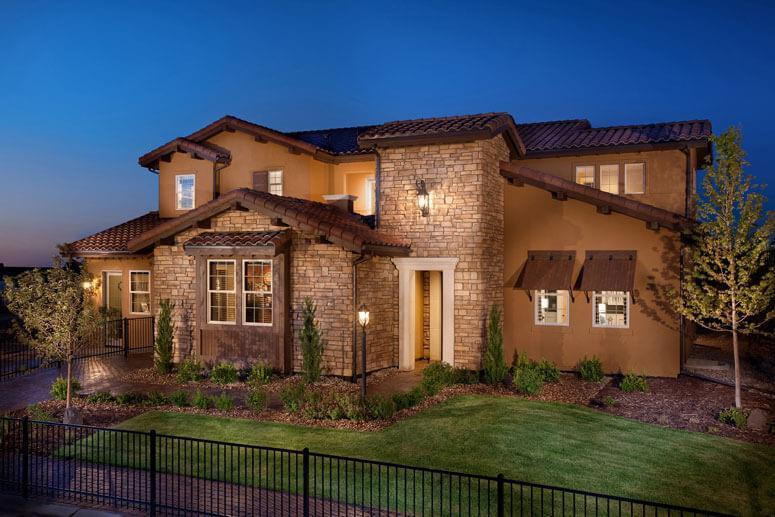 Exterior featured in The Overlook Plan One By Celebrity Communities in Denver, CO