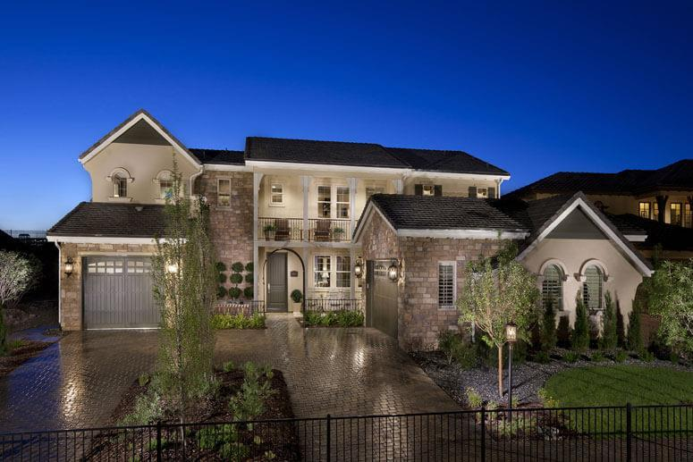 Exterior featured in The Overlook Plan Two By Celebrity Communities in Denver, CO