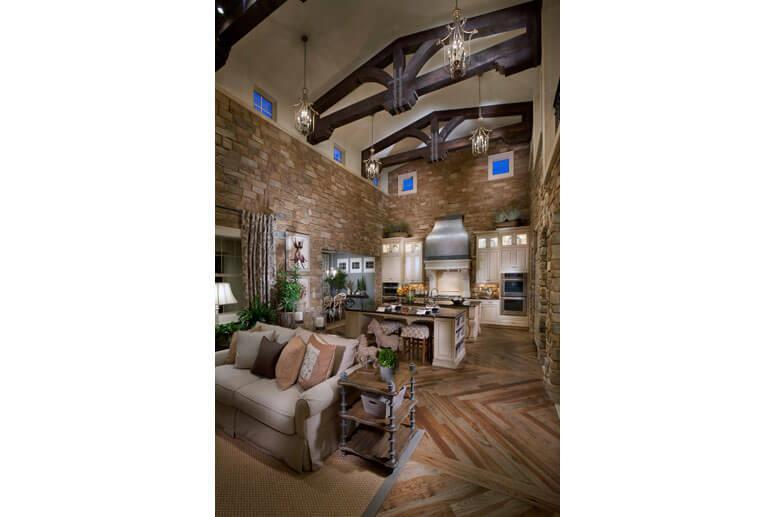 Living Area featured in The Overlook Plan Two By Celebrity Communities in Denver, CO
