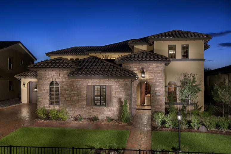 Exterior featured in The Overlook Plan Three By Celebrity Communities in Denver, CO