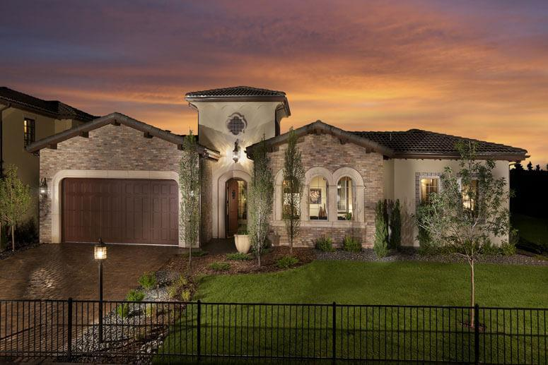 Exterior featured in The Overlook Plan Four By Celebrity Communities in Denver, CO