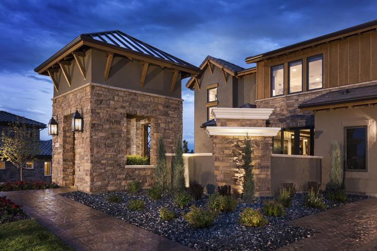 Exterior featured in The Overlook Plan Five By Celebrity Communities in Denver, CO