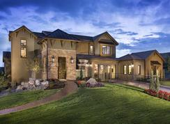 European Hillside Bordeaux Plan - Pradera: Parker, Colorado - Celebrity Communities