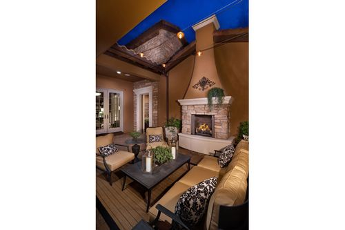Patio-in-The Overlook Plan One-at-Heritage Hills-in-Lone Tree