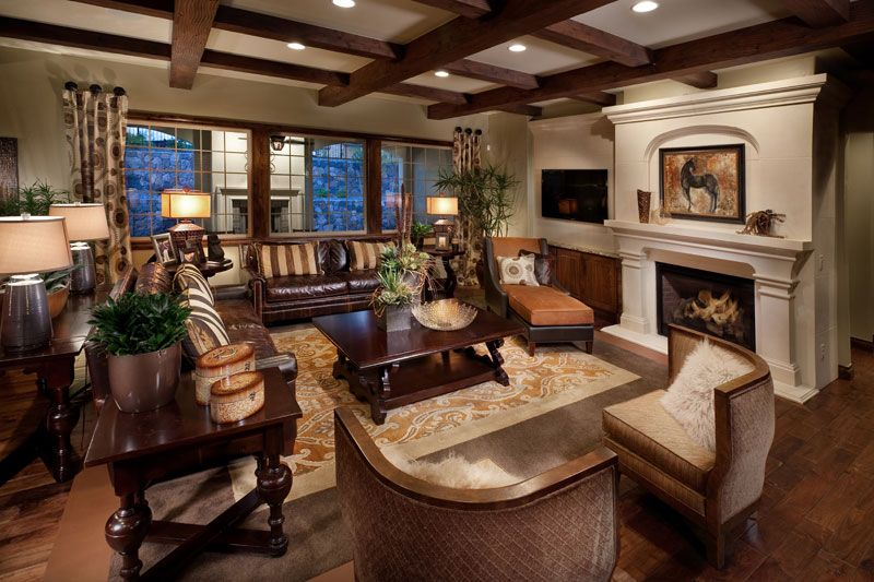 Living Area featured in The Overlook Plan Four By Celebrity Communities in Denver, CO
