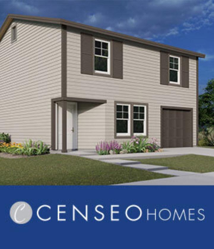 Exterior featured in the Plan 1770 By Censeo Homes in Houston, TX