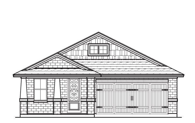 Exterior featured in the Plan 4510 By Censeo Homes in Brazoria, TX