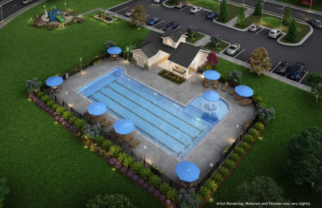 Pool, Cabana and Playground