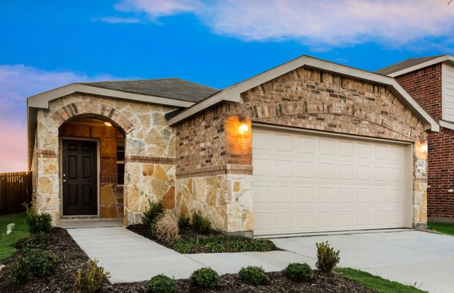 Taft:The Taft, a 1-story new construction home showing Home Exterior R