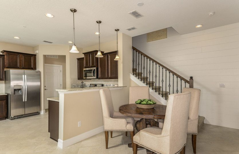 Kitchen-in-Montenero-at-Crossing at Emerson Park-in-Apopka