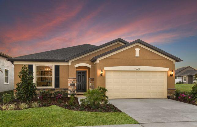 Old Centex Homes Floor Plans: Oasis Plan, Lakeland, Florida 33811