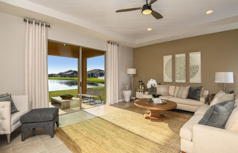 Living Area featured in the Oasis By Centex Homes in Tampa-St. Petersburg, FL