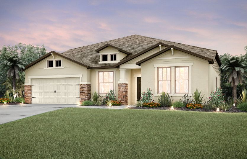 Exterior featured in the Dockside Grand By Centex Homes in Tampa-St. Petersburg, FL